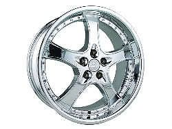 "19""x8 5 adr 95 Chrome Wheels Rims Audi A4 A6 Mercedes Benz MBZ CLS CLK VW"