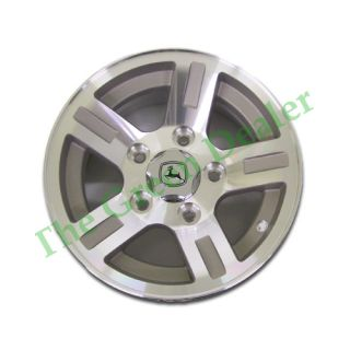 John Deere XUV Gator Machined Clear Alloy Wheel Set BM22603
