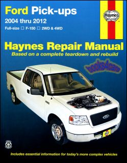 Ford F150 Pickup Truck Shop Service Repair Manual Book F 150 Haynes 4x4 Chilton