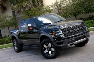"2012 Ford F 150 SVT Raptor Crew Cab Pickup 4 Door 6 2L 20""HD Wheels Nav Loaded"