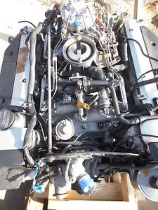 1990 1992 Mercedes Benz Engine Motor R129 500SL with Fuel Pump Lines Harness