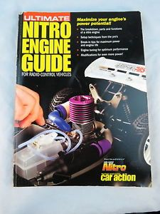 Ultimate Nitro Engine Guide RC Car Action GT MP7 MP5 777 8ight RC8 Drake NT SP2