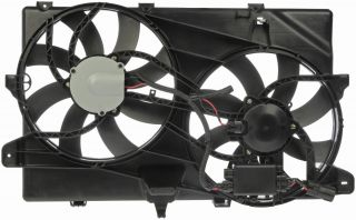 Dorman 621 392 Radiator Condensor Fan Assembly 2007 2013 Ford Edge Lincoln MKX