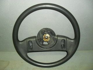 1987 1989 Ford Mustang Black Steering Wheel w Cruise Control GT LX 5 0
