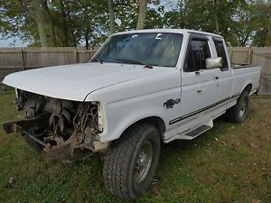 1997 Ford F 250 2 Wheel Drive Diesel Extended Cab Pickup Truck Parts Rebuilder