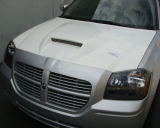 05 07 06 Dodge Magnum SRT8 Functional RAM Air Hood SRT
