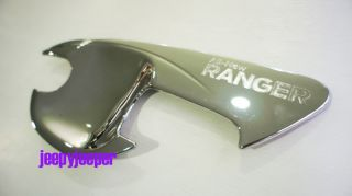 Chrome Door Handle Cover Insert Bowl Trim Ford New Ranger T6 2011 2012 Present
