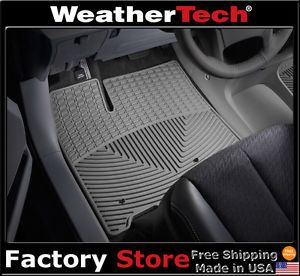Weathertech® All Weather Floor Mats Toyota Sienna 2011 2012 Grey