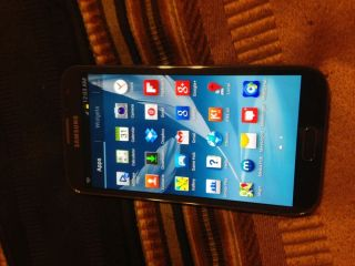 Samsung Galaxy Note 2 II 4G Black Sprint Smartphone Internet GPS Camera