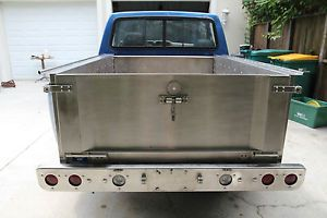 Stainless Steel Truck Bed F150 F100 Ford Chevy Step Side Pick Up Bed Custom SS