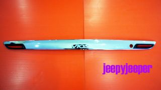 F Chrome Tailgate Tail Gate Handle Cover Toyota VIOS Yaris Belta 2007 2010