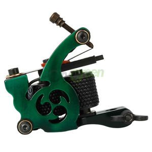 New 8 Wrap Coils Aluminum Alloy Tattoo Machine Liner Shader Gun C 33