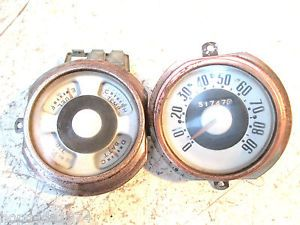 1951 1952 Ford Pickup Truck Gauges Parts 5 Star Deluxe