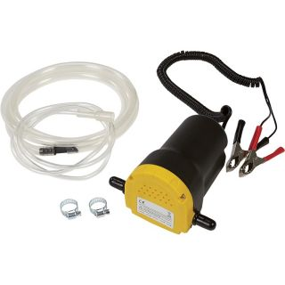 Fuel Oil Diesel Extractor Transfer Pump 12V 12 Volt Siphon Portable w Hose New