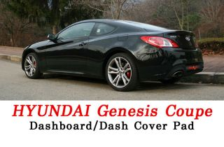 Hyundai Genesis Coupe Dashboard Dash Sun Cover Pad Mat Carpet Car Interior