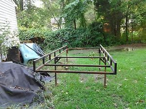 Ladder Rack Short Bed Step Side Chevy Ford Dodge GMC Truck