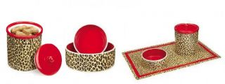 Leopard Print Collection for Dogs Dog Apparel Accessories with Leopards