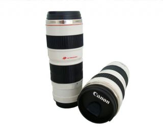 Canon Nikon 24 105 mm 70 200 24 70 Lens Coffee Mug Cup Zoomable Stainless Steel