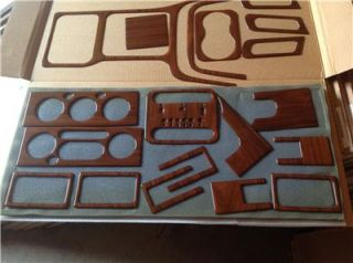 1999 01 Jeep Grand Cherokee Bubinga Wood Finish Dash Kit