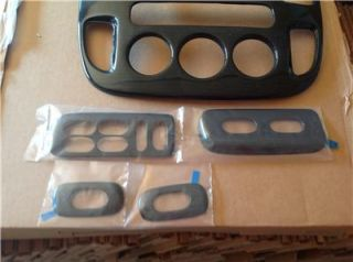 2005 07 Ford Escape Black Cherry Wood Finish Dash Kit