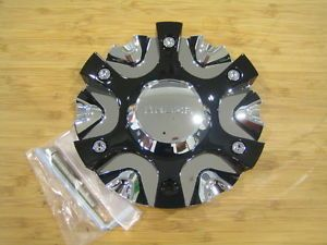 Akuza 824 Rissa Chrome Wheel Rim Center Cap Centercap EMR0824 Car Cap LG0807 18