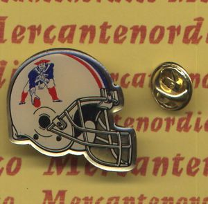 NFL New England Patriots NFL Helmet Pin Old Logo New in Very Good Condition