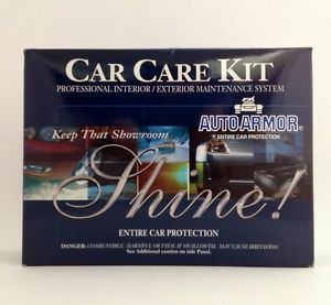 Auto Armor Car Care Kit New in Box Professional Quality Detailing Kit