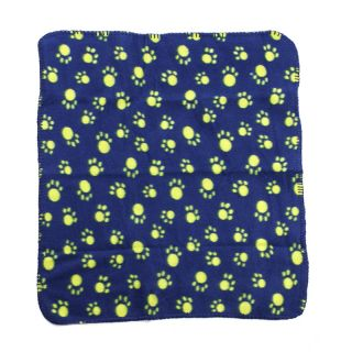 Cute Soft Manmade Fleece Blanket Mat Bed Cover for Pet Dog Cat 3 Colors