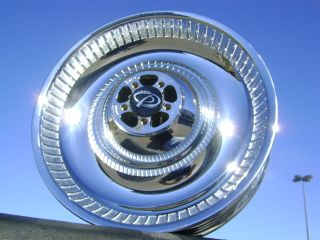 Harley Davidson Softail Deuce Duece Chrome Wheel Rim Rear HD