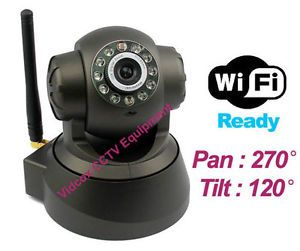 Wireless WiFi Pan Tilt Nightvision IP Camera Cam Network Internet 3G DDNS Motion