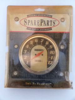 Chrome Specialties Harley Davidson Speedometer 2 1 Ratio 31402 1962 1967
