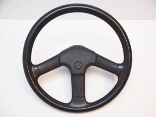 VW Golf GTI MK2 Jetta A2 Rabbit Scirocco Dasher 3 Spoke Euro Steering Wheel