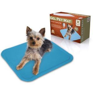 "Hugs Gel Pet Mat Cooling Cool Pet Dog Cat Pad Bed Large 16"" x 20"" Hug 09730"
