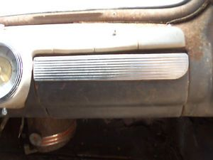 46 47 48 Ford Dash Panel Glove Box Door Lid Cover