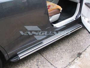09 13 2013 Toyota Venza Side Step Nerf Bar Set Pair Aluminum Running Board