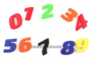 Plastic Fridge Magnet 26 Letter Alphabet Number Educational Baby Development Toy