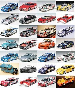 Tamiya 1 24 Scale Model Kit Cars Various Plastic Model Race Car Kits