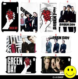 Green Day American Punk Rock Band Fans iPod Touch 4G Case Casing