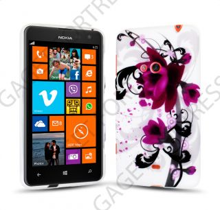 Soft TPU Gel Case Skin Cover for Nokia Lumia 625 with Mini Stylus