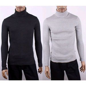 Mens Casual Slim Fit Long Sleeve T Shirts
