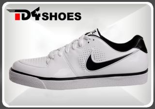 Sale Nike T1 Street White Patent Black Mens Casual Shoes 325009101