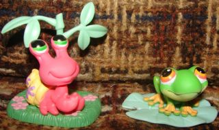 Littlest Pet Shop Frog Turtle Iguana Lizard Hermit Crab Panda Bears Bear Lot