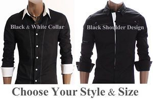 Brand New Designer Collection of Men's Dress Casual Slim Fit Shirts