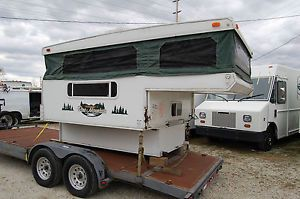 2006 Strarcraft Pine Mountain Pop Up Pickup Truck camper RV Used Salvage Title