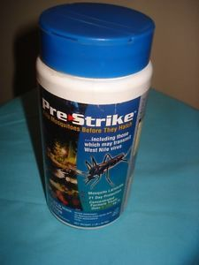 Pre Strike Kill Mosquito Before They Hatch Prevention Garden Ponds 1 Lb
