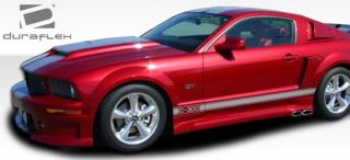 2005 2009 Ford Mustang Duraflex CVX Side Scoops Body Kit