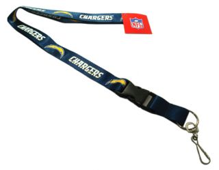 San Diego Chargers Lanyard NFL Key Football Chain Bolt