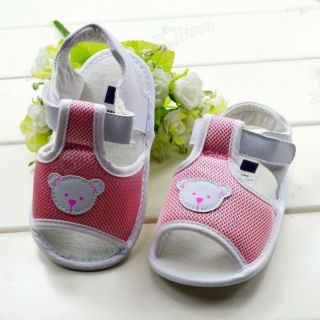 Pinks Toddler Baby Girls Princess Bear Children's Sandals Shoes for 3 12 Months