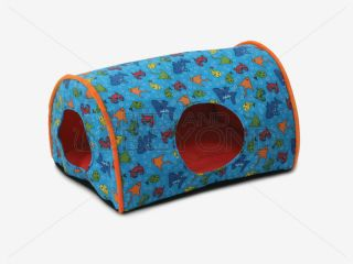 K H Indoor camper Orange Fish Small Little Dog Cat Pet Kitty Bed Pad Mat 3986