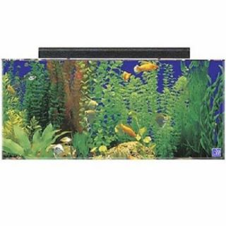 Seaclear 50 Gallon Tank with Skimmer Box Fish Aquarium Acrylic Fluorescent Hood